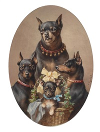 hundefamilie by carl reichert