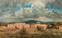 storm over rancho de taos by robert kennedy abbett