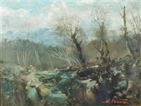 paesaggio by ezelino briante