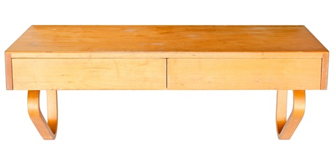 wall shelf with two drawers by alvar aalto - Wall Shelf With Two Drawers By Alvar Aalto On Artnet