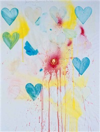 large heart drawing #75 by jim dine