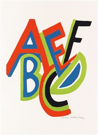 abcdef by sonia delaunay-terk