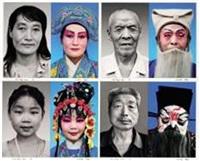 huaibang opera series (set of 10) by lian ming