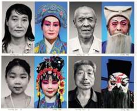 huaibang opera series set of 10 by lian ming