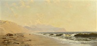 beach and tillamook head by cleveland rockwell