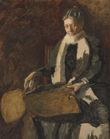 portrait of mrs joseph w drexel by thomas eakins