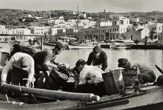 les pecheurs de mykonos, greece by rené burri