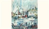 port de pêche breton by juan sevilla saez