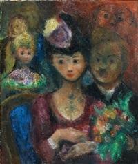 la soiree au theâtre by édouard joseph goerg