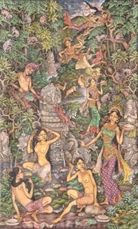 rajapala dan tujuh bidadari by i ketut ginarsa