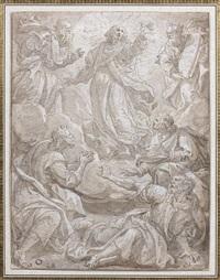 la transfiguration by marten de vos