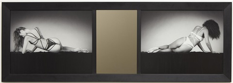 mirror image diptych by robert mapplethorpe