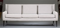 three-seat sofa by paul mccobb