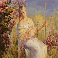 on the swing by andrei markin