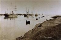 le canal de suez (alb. w/12 works) by hippolyte arnoux