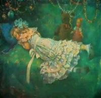 le soir de noel by galina rumyantseva