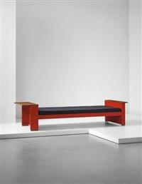 cité' bed, model no. 10, designed for the cité universitaire, nancy by jean prouvé