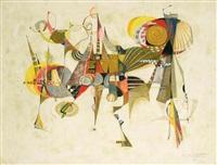 composition abstraite by pierre de berroeta