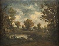 paysage animé by clement (charles-henri) quinton