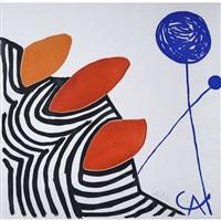sans titre, le ballon bleu by alexander calder