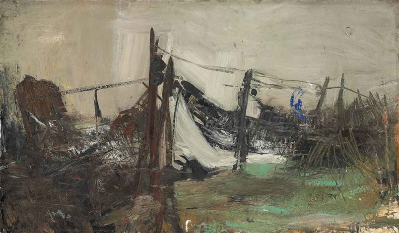 fishing nets, catterline by joan kathleen harding eardley