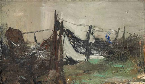 fishing nets catterline by joan kathleen harding eardley