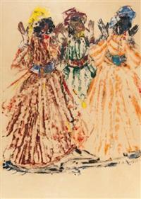 trois danseuses by jean emile laurent