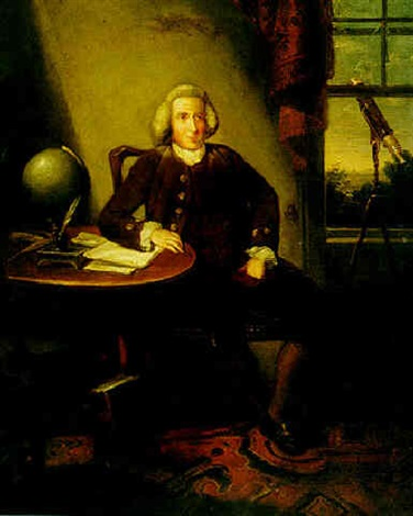 portrait of james ferguson astronomer by david allan