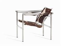 basculant chair by le corbusier, charlotte perriand and pierre jeanneret