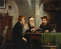 three jewish scholars by lajos koloszvary
