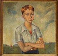 retrato de niño by roberto montenegro