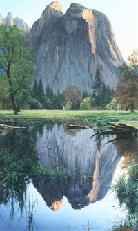 yosemite tranquil by mark weber