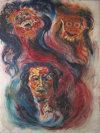 kartika and masks by kartika affandi koberl