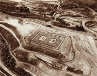 outlet (fabrica, iron mine) by vik muniz