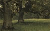 shade in summer by laura theresa alma-tadema
