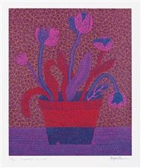 flowers a by yayoi kusama