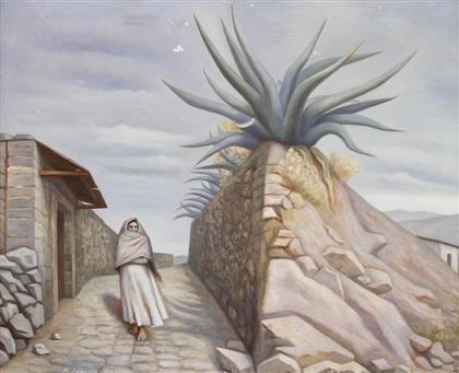 en el valle de mexico by raúl anguiano