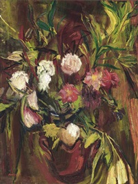 flowers by david bomberg