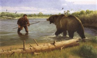 captain lewis and the grizzly by ken laager