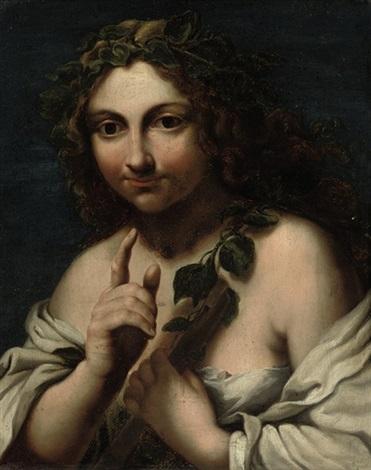 the muse euterpe by giovanni francesco romanelli