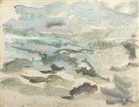 paysage by eugène leroy