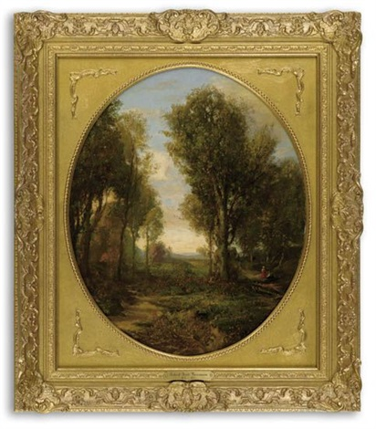 untitled woodland scene by robert scott duncanson