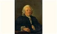 portrait de servandoni by jean françois gilles colson