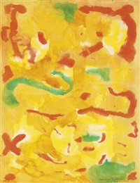 untitled (bon noël) by beauford delaney
