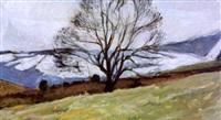 winter tree, glenarm by alexander randall mark mcdonnell dunluce