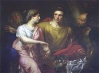 cléopâtre et antoine by françois ange