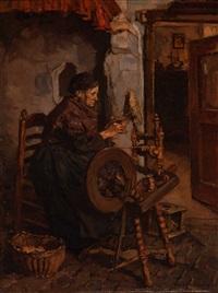 the spinner by johannes evert hendrik akkeringa