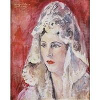 la mujer del pintor by francisco camps ribera