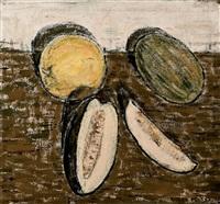 bodegón de melones by godofredo ortega muñoz
