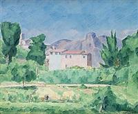 franskt landskap by victor axelson